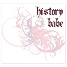 History Babe Poster