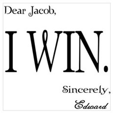 Edwards Letter to Jacob - Twi Poster