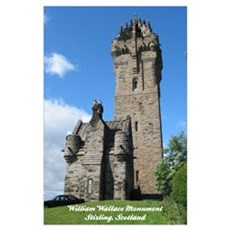 Wm Wallace Monument Poster