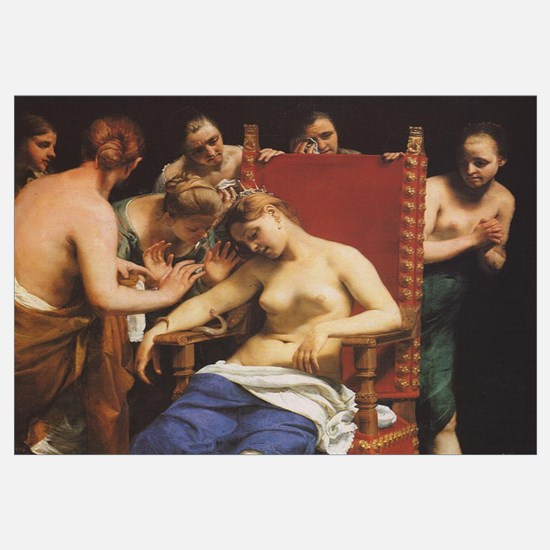 Death of Cleopatra by Guido Cagnacci