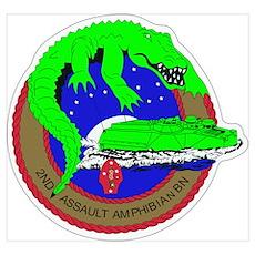 2nd Assault Amphibian Battalion Poster