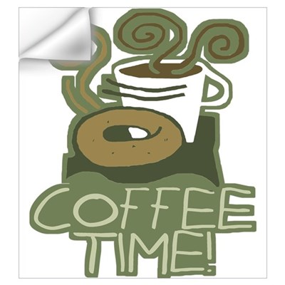 COFFEE TIME! Coffee Break Wall Decal