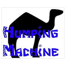 Humping Machine Poster