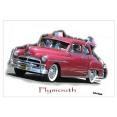 Restored Plymouth Canvas Art