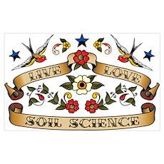 Live Love Soil Science Poster