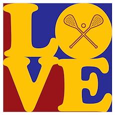 Lacrosse Love Poster