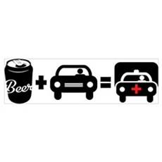Beer Plus Driving Poster