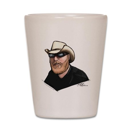 The Hat Shot Glass