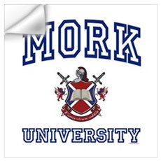 MORK University Wall Decal