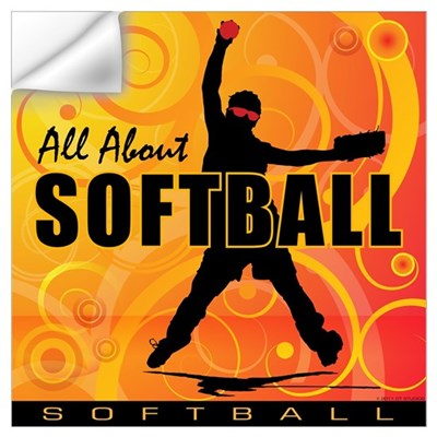 2011 Softball 90 Wall Decal