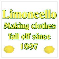 Italian Limoncello Poster