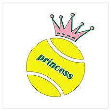 Tennis Princess Poster