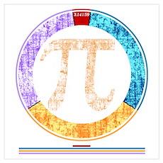 Pi Circle Poster