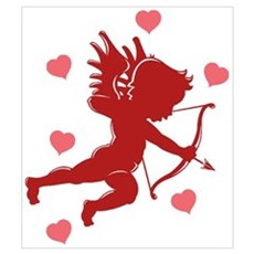 Valentine's Day Cupid Poster