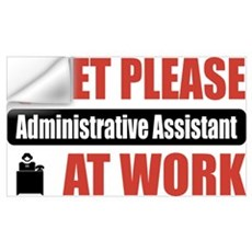 Administrative Assistant Work Wall Decal