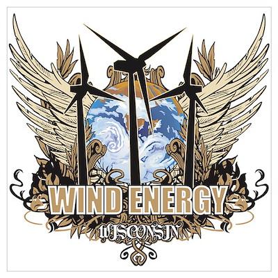 Wisconsin Wind Energy Poster