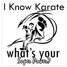 I know karate Poster