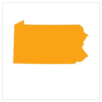 Orange Pennsylvania Poster
