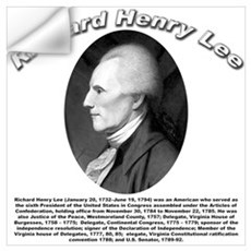 Richard Henry Lee 01 Wall Decal