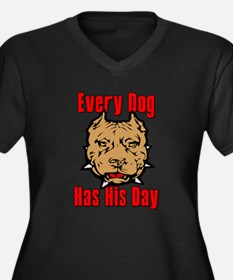 Every Dog Has His Day Scarface Women's Plus Size V
