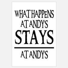 STAYS AT ANDY'S
