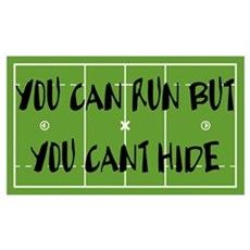 Lacrosse You Can Run Canvas Art