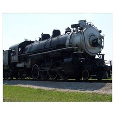 Steam Engine Canvas Art