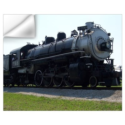 Steam Engine Wall Decal