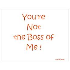 Not My Boss Poster
