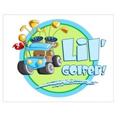 Lil' Golfer! Poster