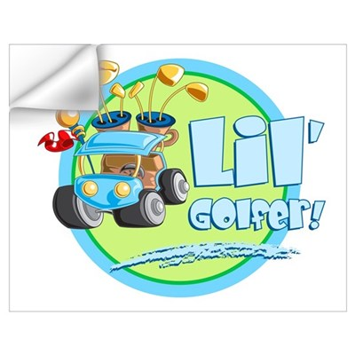 Lil' Golfer! Wall Decal