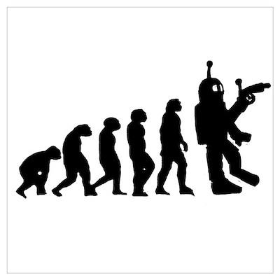 Killer Robot evolution Poster