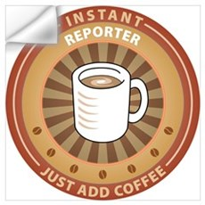 Instant Reporter Wall Decal