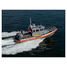Coast Guard Patrol Poster