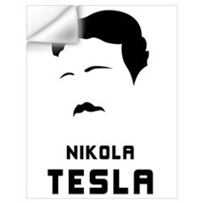 Nikola Tesla Silhouette Wall Decal
