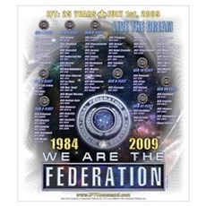 We Are The Federation Poster