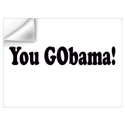 You GObama! Wall Decal