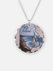 Cute Rhode island Necklace