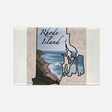 Cute Rhode island Rectangle Magnet