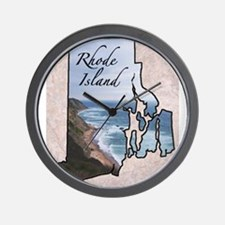 Cute Rhode island Wall Clock