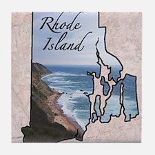 Cute Rhode island Tile Coaster