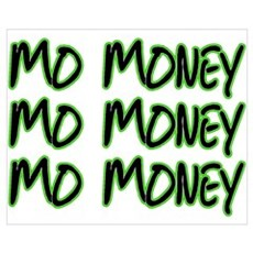 Mo Money Canvas Art