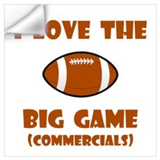Big Game Commercials! Wall Decal