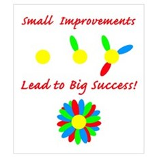 Improvements Success Framed Print