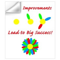 Improvements Success Wall Decal