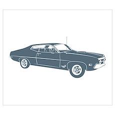 1970 Ford Torino Cobra 429 Poster