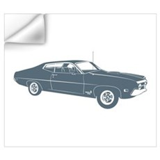 1970 Ford Torino Cobra 429 Wall Decal