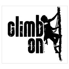 Climb On Framed Print