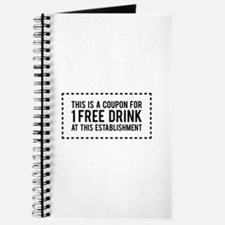 1 Free Drink Coupon Journal
