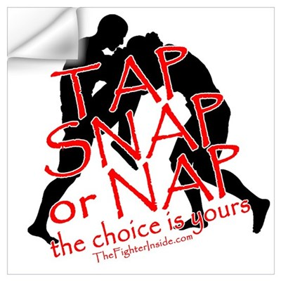 TAP SNAP OR NAP, THE CHOICE I Wall Decal